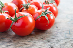 Cherry tomatoe Stock Images
