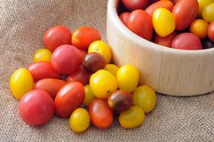 Cherry tomatoe Stock Photos