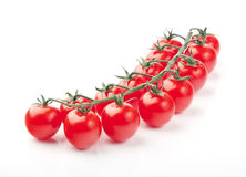 Cherry tomatoes. Close up of fresh red cherry tomatoes Royalty Free Stock Photo