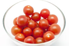Cherry tomatoes Stock Photography
