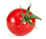 Cherry tomatoes. Isolated on a white background Royalty Free Stock Photo
