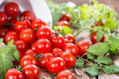 Cherry Tomatoes Fotos de archivo
