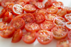 Cherry Tomatoes Fotografia de Stock