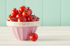 Cherry Tomatoes Images stock