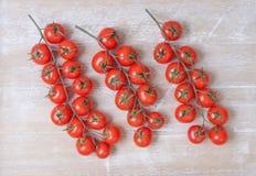 Cherry Tomatoes Fotografia de Stock Royalty Free