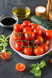 Cherry Tomatoes Images libres de droits