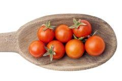 Cherry Tomatoes Stock Foto's