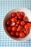 Cherry Tomatoes Fotografie Stock