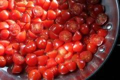 Cherry Tomatoes Fotografie Stock Libere da Diritti
