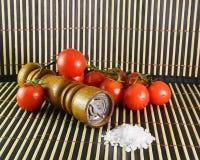 Cherry Tomatoes royalty-vrije stock foto's