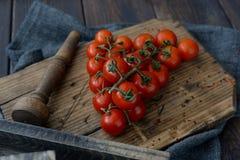 Cherry Tomatoes Royalty-vrije Stock Afbeelding