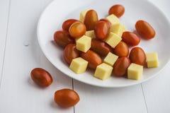 Cherry Tomatoes Royalty-vrije Stock Fotografie