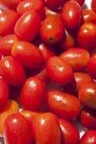 Cherry tomatoes background Stock Photos