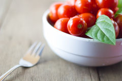 Cherry tomatoes a bowl Stock Photo