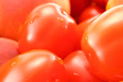 Cherry tomatoes close-up Royalty Free Stock Photography