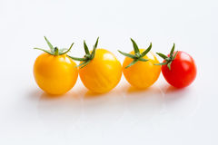 Cherry tomatoes closeup Royalty Free Stock Photo