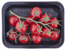 Cherry tomatoes. In a container Royalty Free Stock Photo