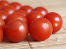 Cherry tomatoes detail Stock Photos