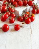 Cherry Tomatoes from a farmers market Stock Photo