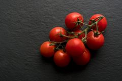 Cherry Tomatoes fresco Foto de Stock Royalty Free