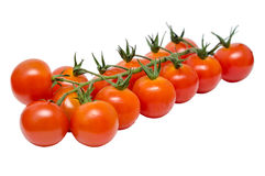 Cherry Tomatoes Isolated Royalty Free Stock Photography