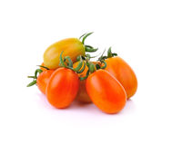 Cherry tomatoes isolated on white background Royalty Free Stock Photography