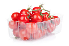 Cherry tomatoes in packaging Stock Image