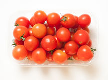 Cherry tomatoes with tails Royalty Free Stock Photography