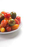 Cherry tomatoes variety Royalty Free Stock Photo
