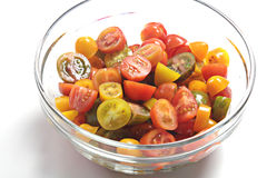Cherry tomatoes variety Royalty Free Stock Images