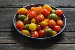 Cherry tomatoes variety Stock Image
