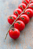 Cherry Tomatoes. Vertical stock image Stock Image