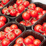 Cherry tomatos Stock Photo