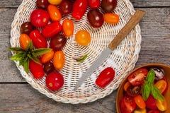 Cherry Tomatos arkivfoton