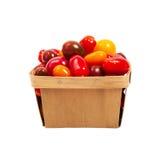 Cherry Tomatos Fotografía de archivo libre de regalías