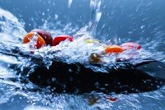 Cherry tomatos Royalty Free Stock Photography