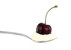Cherry on top Royalty Free Stock Image