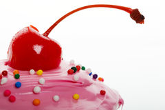 Cherry on top Royalty Free Stock Photography