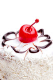 Cherry topping Royalty Free Stock Photography