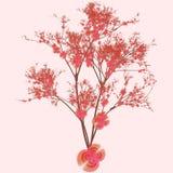 Cherry Tree Art Stock Photos