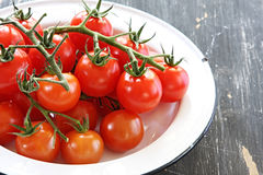 Cherry Truss Tomatoes Stock Images