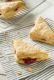 Cherry Turnover Pastries caseiro fotografia de stock
