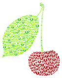 Cherry Vitamins Concept Imagenes de archivo