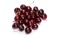 Cherry on white Royalty Free Stock Image