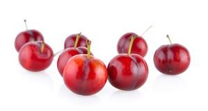 Cherry on white background Royalty Free Stock Photo
