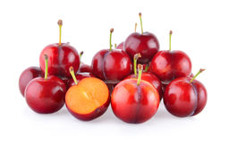 Cherry on white background Stock Image