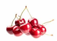 Cherry on a white background Royalty Free Stock Photos