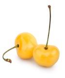 Cherry yellow two Stock Photo