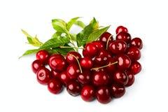 Cherryet bär fruktt sött Royaltyfri Foto