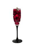 Cherryexponeringsglas Fotografering för Bildbyråer